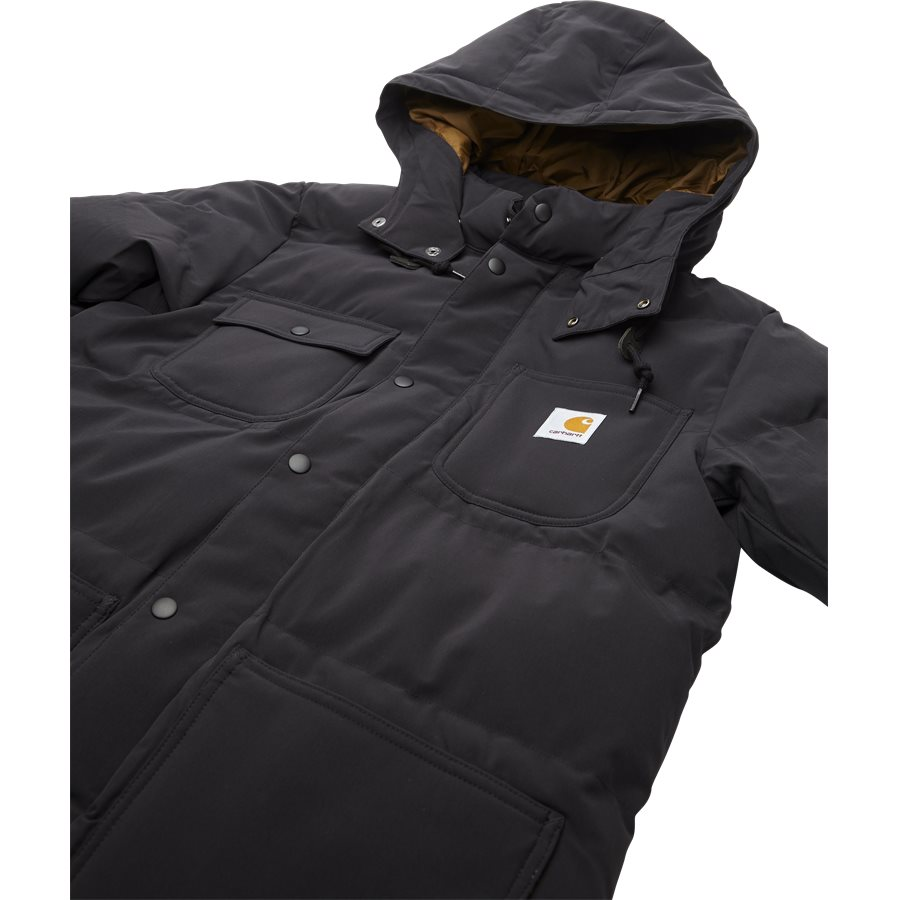 ALPINE COAT I023081 - Alpine Coat - Jakker - Regular - BLK/HAM. BROWN - 3
